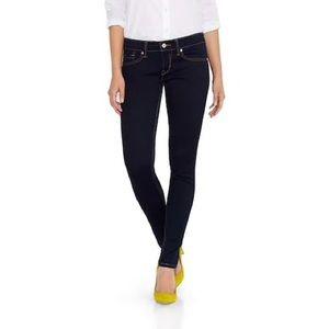 Levi's 524 skinny dark blue jeans
